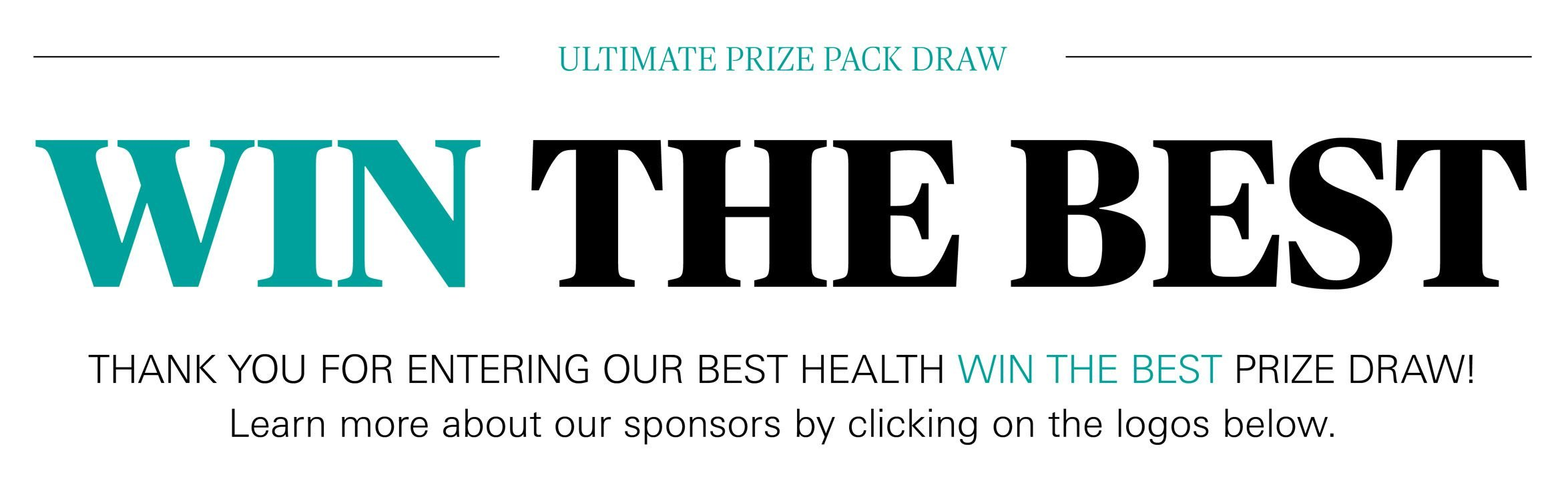 Win The Best - Thank You