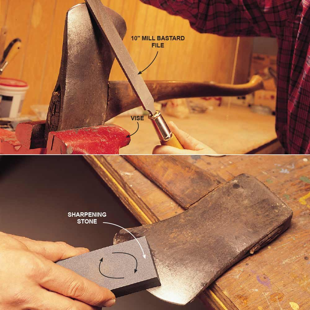 Axes: File and Hone