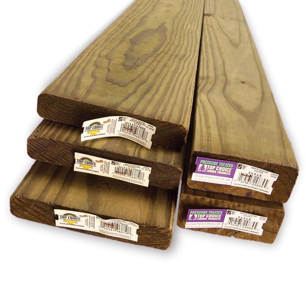 Avoid Treated Wood