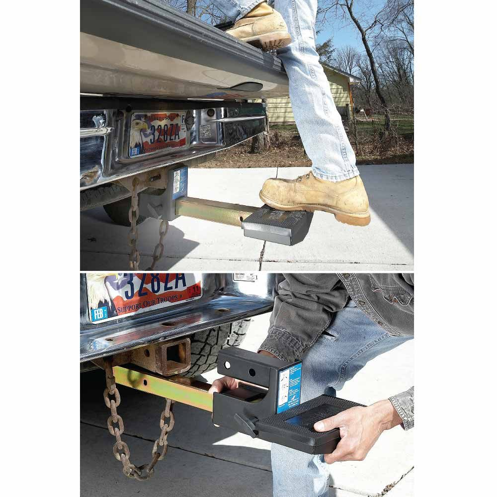 A handy pull-out step for under your trailer | Construction Pro Tips