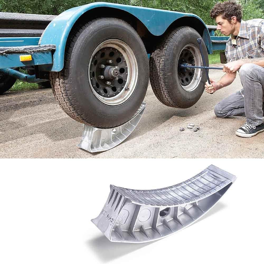 Wedge shaped aluminum EZ Jack | Construction Pro Tips