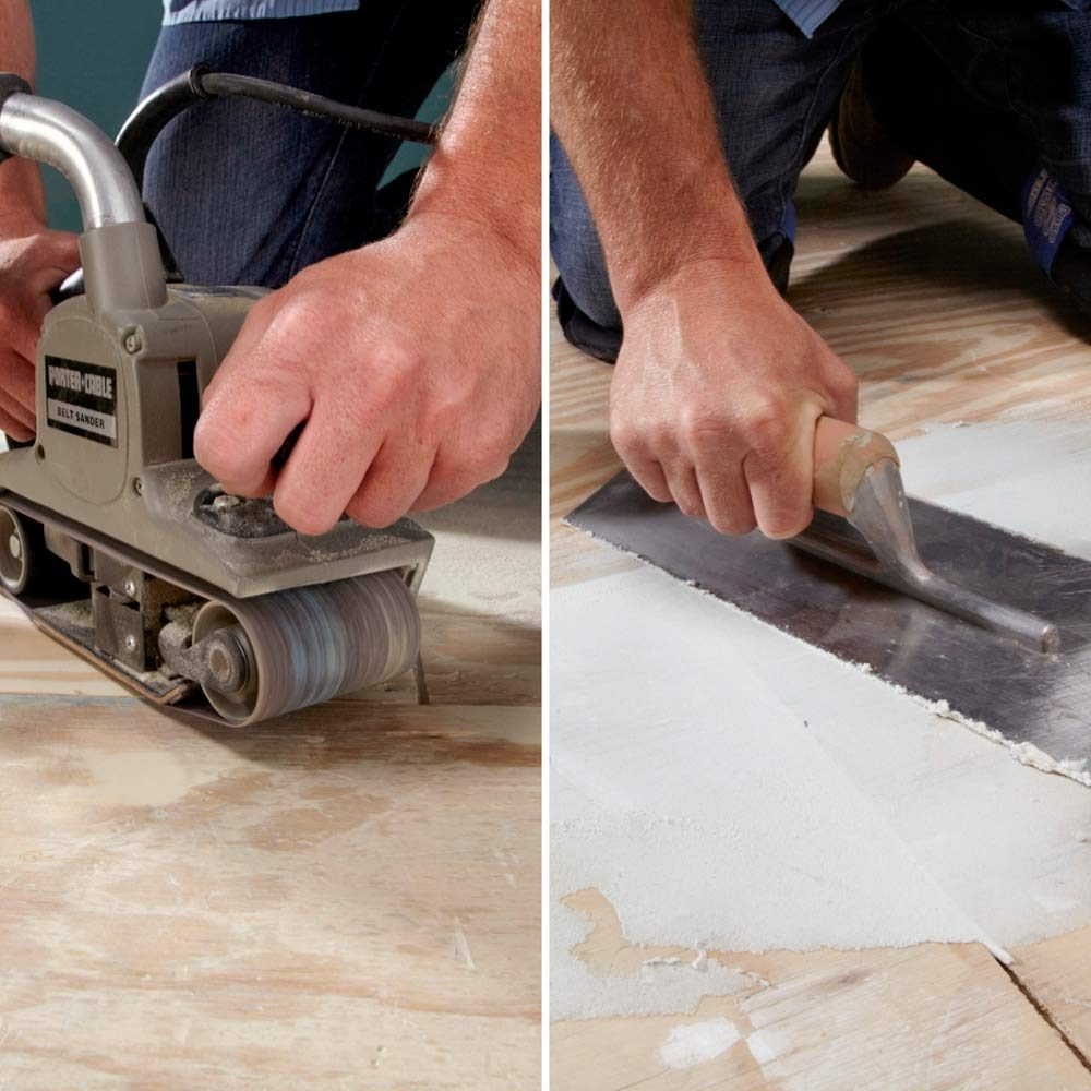 Tools for Smoothing Subfloor| Construction Pro Tips