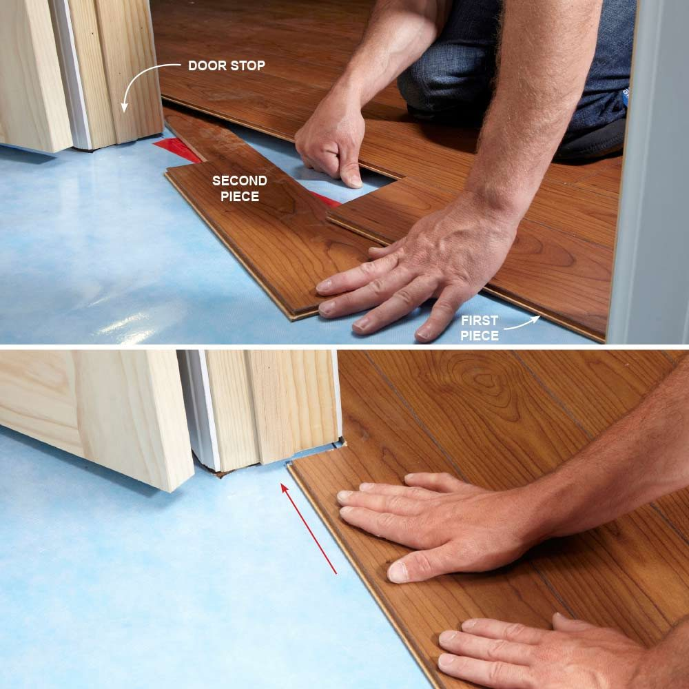 Tips For Installing Laminate Flooring Construction Pro Tips - What do i put under laminate flooring