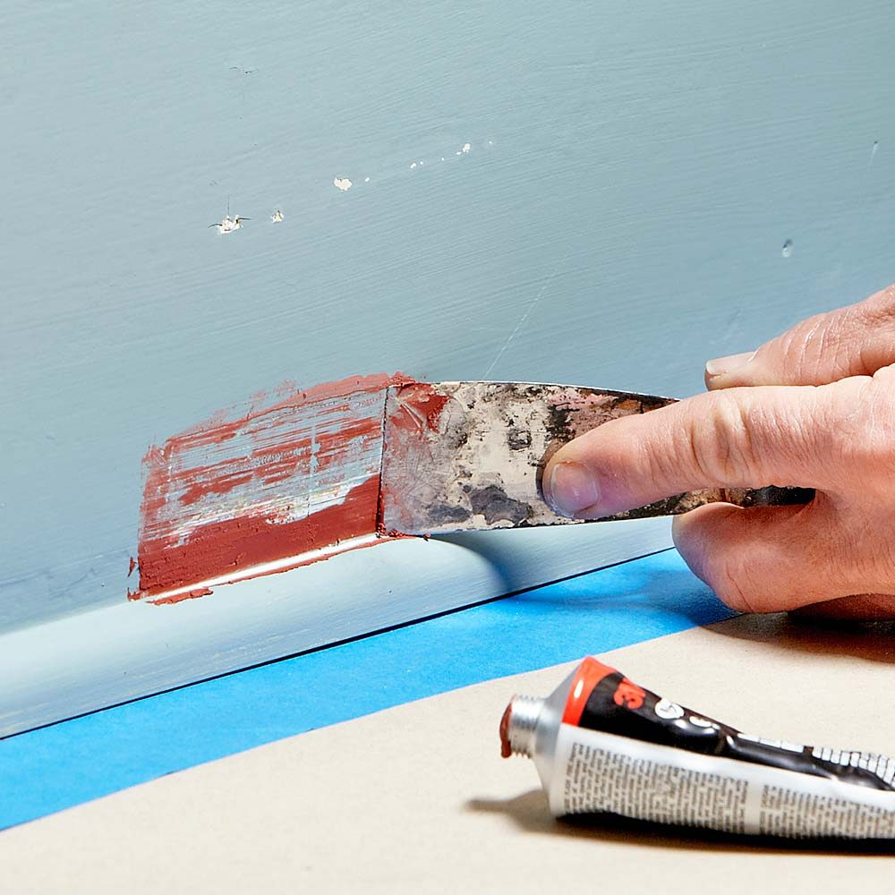 Patching with glazing putty | Construction Pro Tips