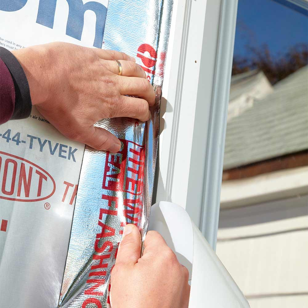 Sealing windows and doors with sealing tapes | Construction Pro Tips