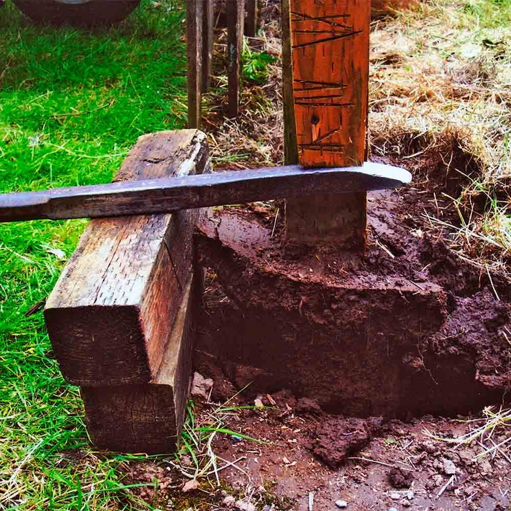 Fence post removal | Construction Pro Tips