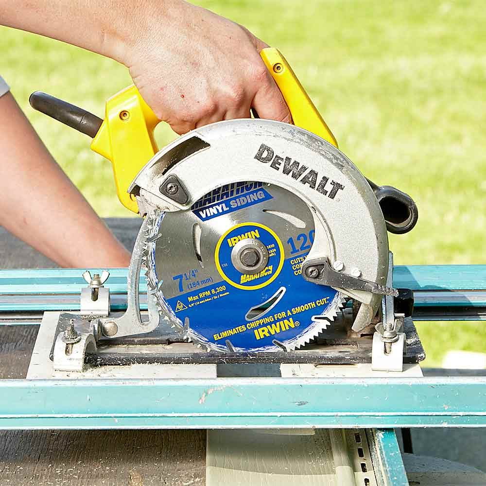 Use blades specifically designed for cutting vinyl | Construction Pro Tips