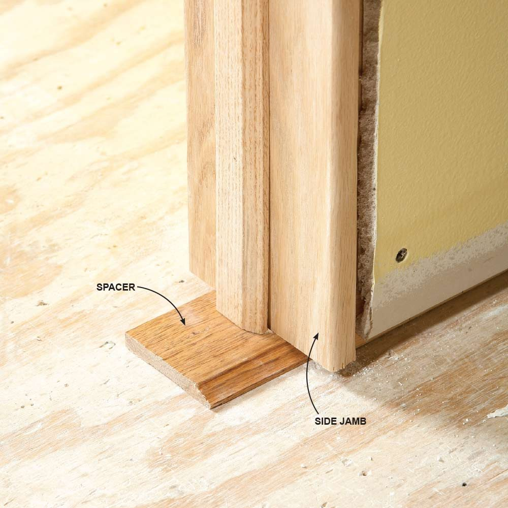 learn how to install a door right in ten easy steps