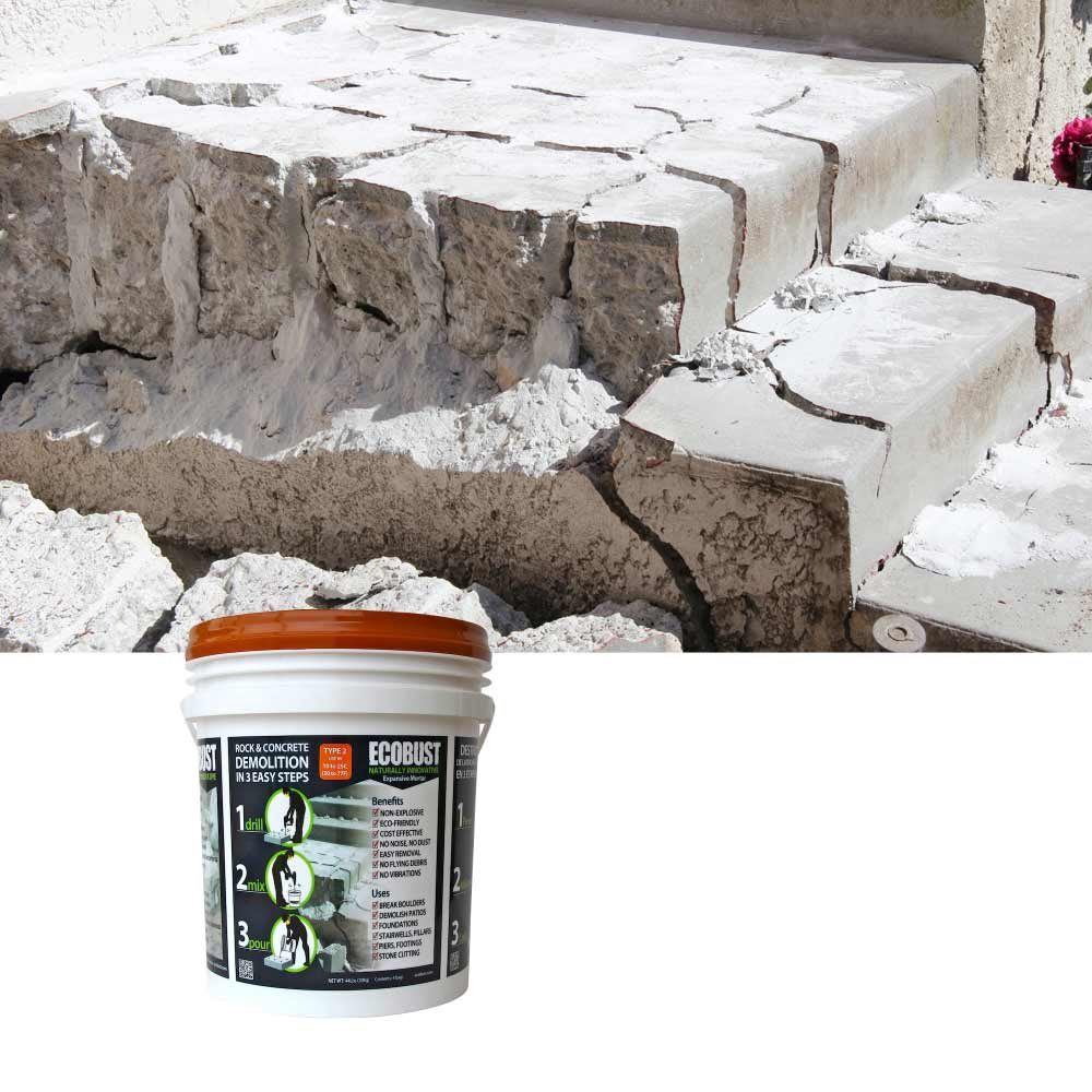 Powder for concrete demolition | Construction Pro Tips