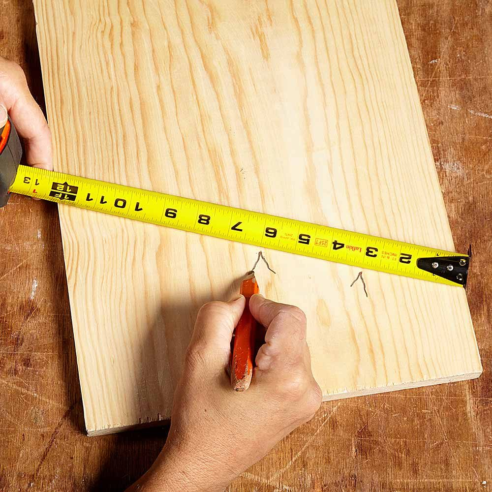 Marking a board to divide it equally | Construction Pro Tips