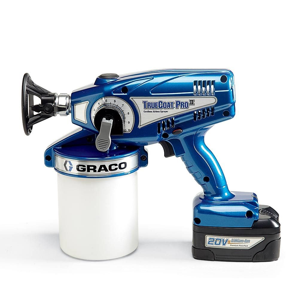 A Graco Cordless Paint Sprayer | Construction Pro Tips
