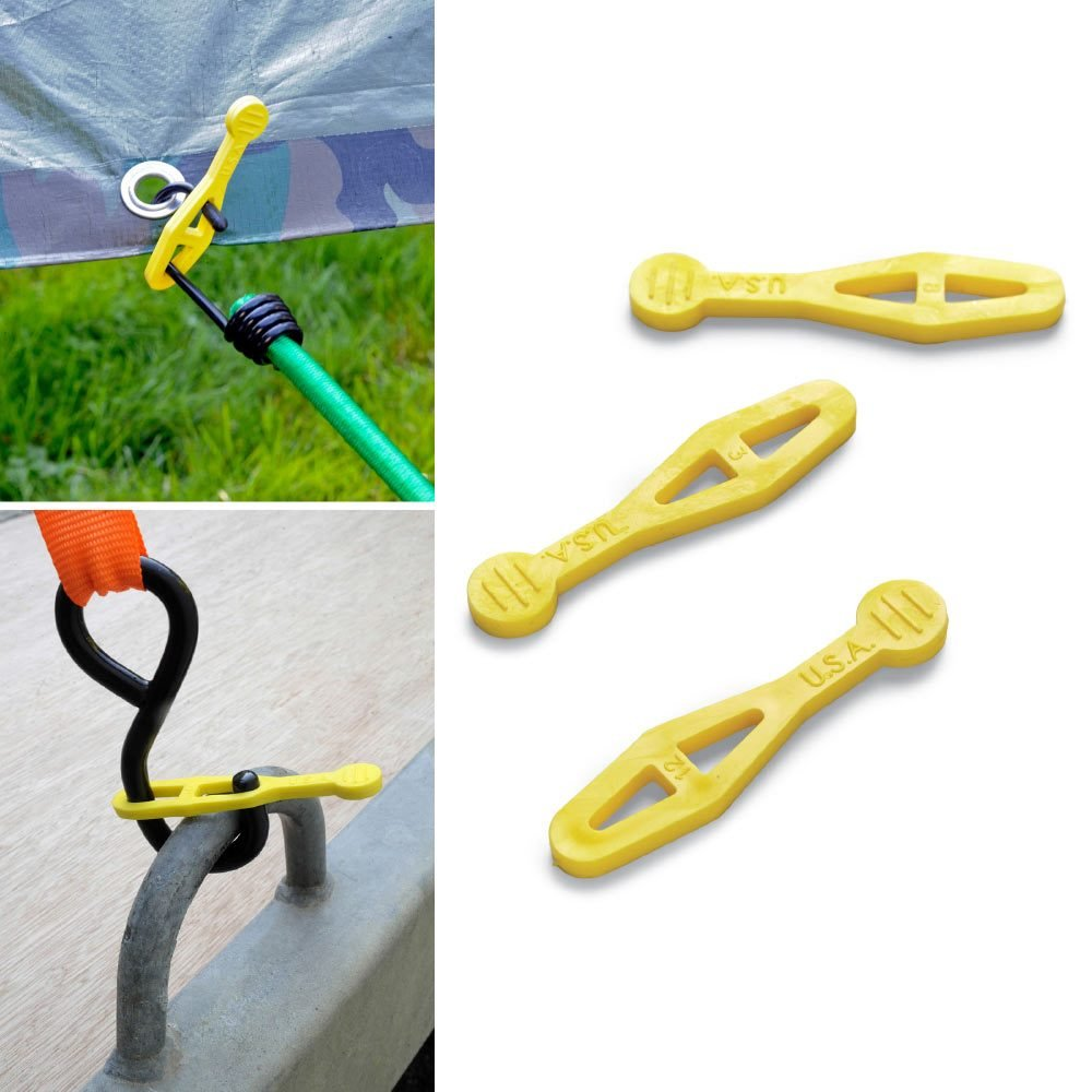 Tie down straps for bungies | Construction Pro Tips