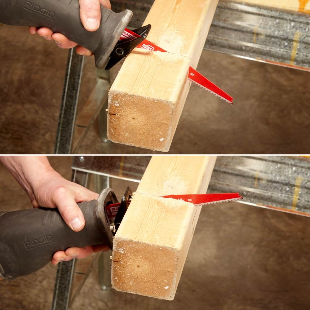 Alternating angles while making a cut | Construction Pro Tips