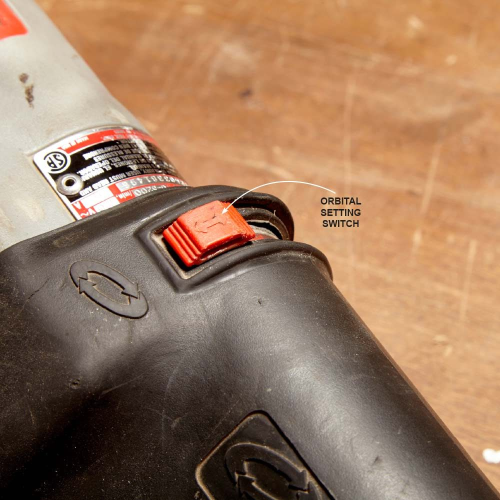 Setting a saw to the orbital switch | Construction Pro Tips
