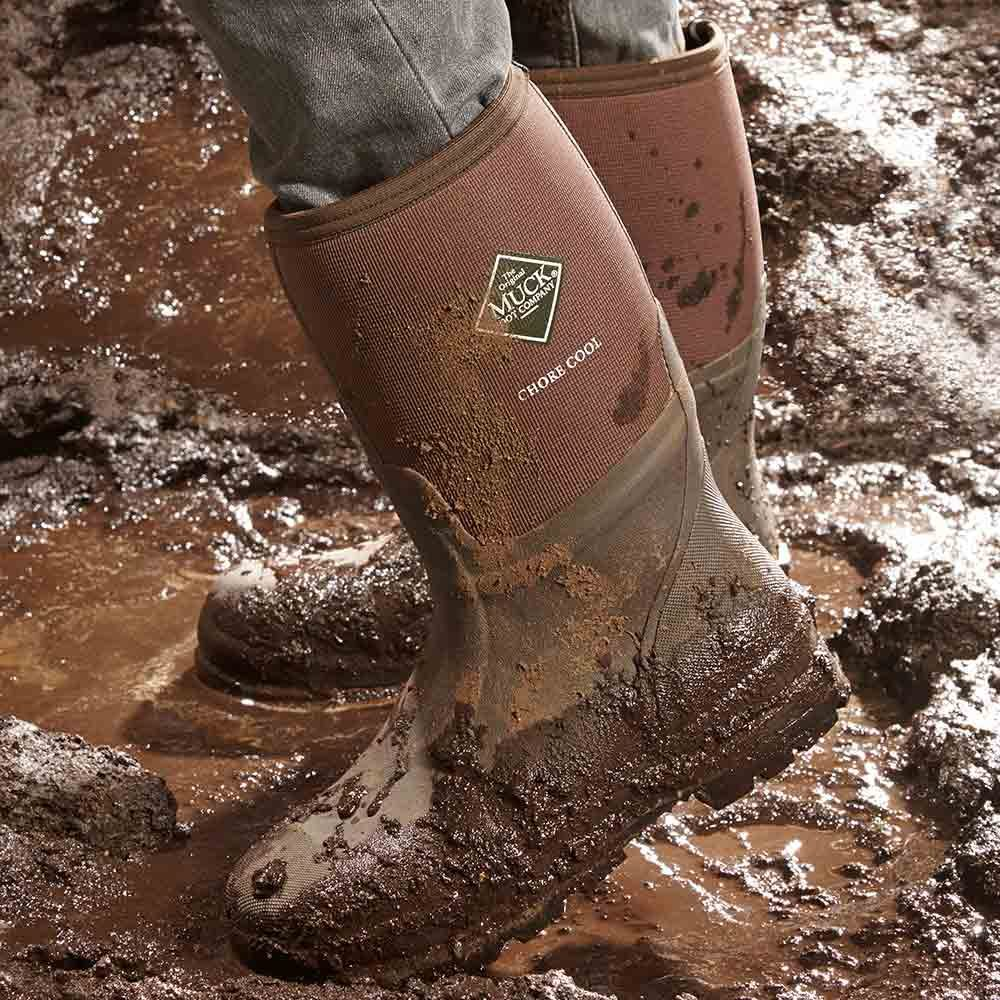 Mud boots that keep your feet cool | Construction Pro Tips