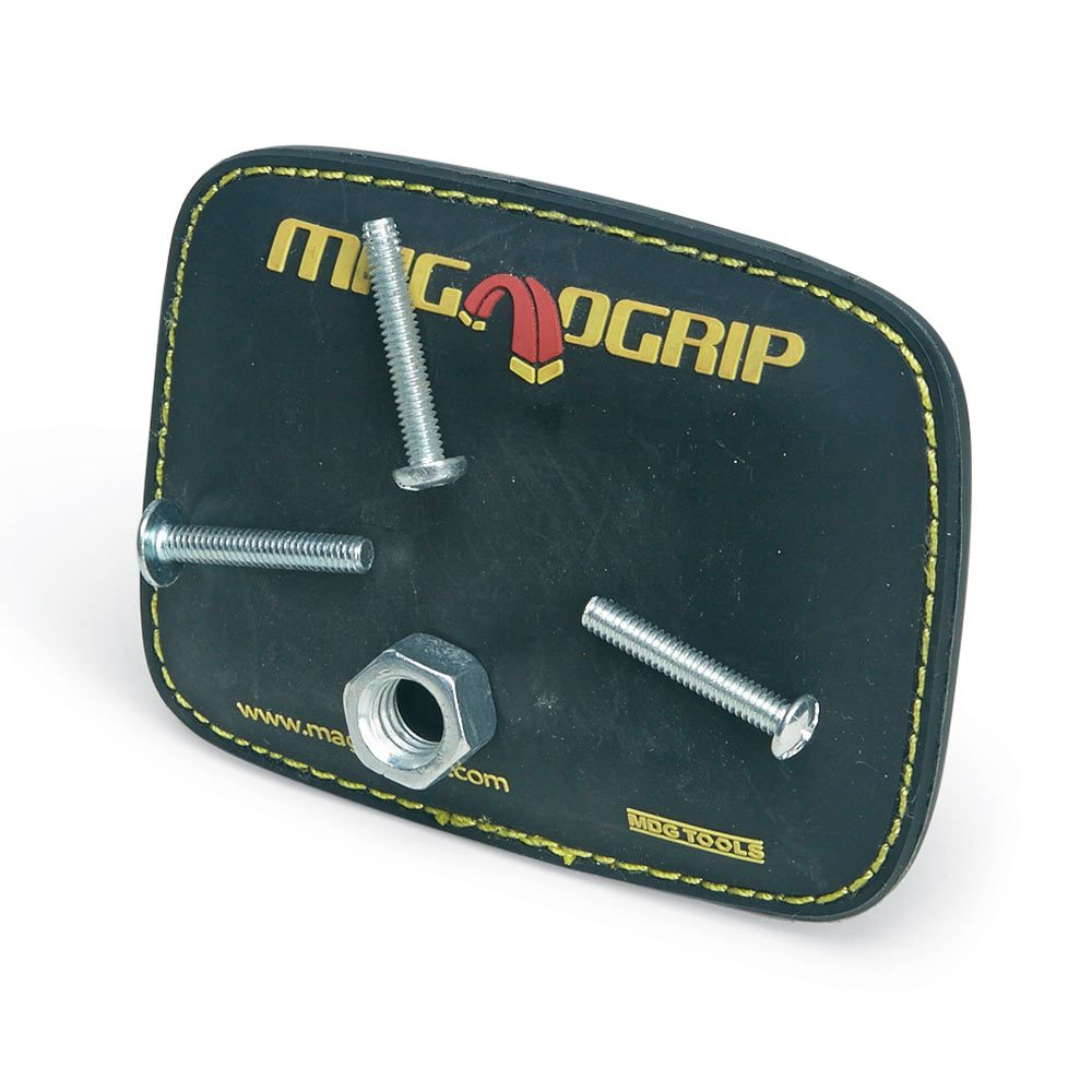 A magnetic belt clip for holding screws| Construction Pro Tips