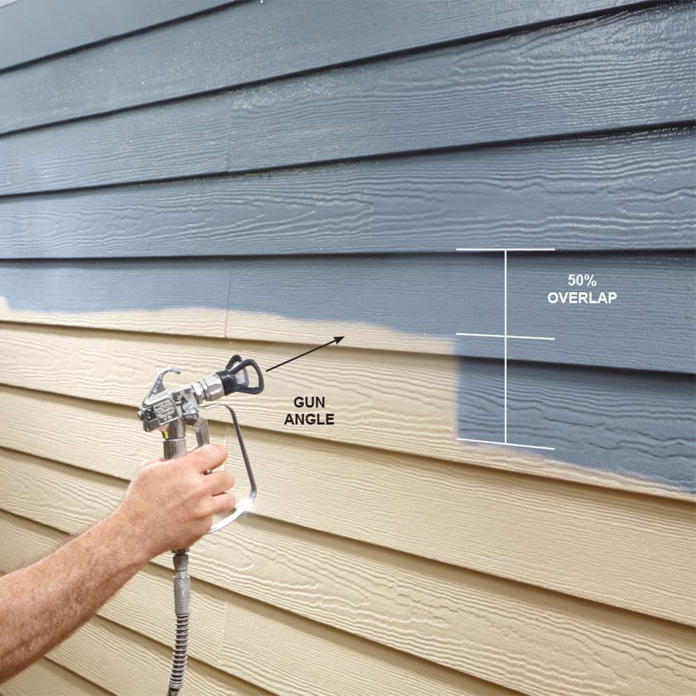 Airless paint sprayer tips for exterior paint jobs construction pro tips - Exterior paint jobs model ...