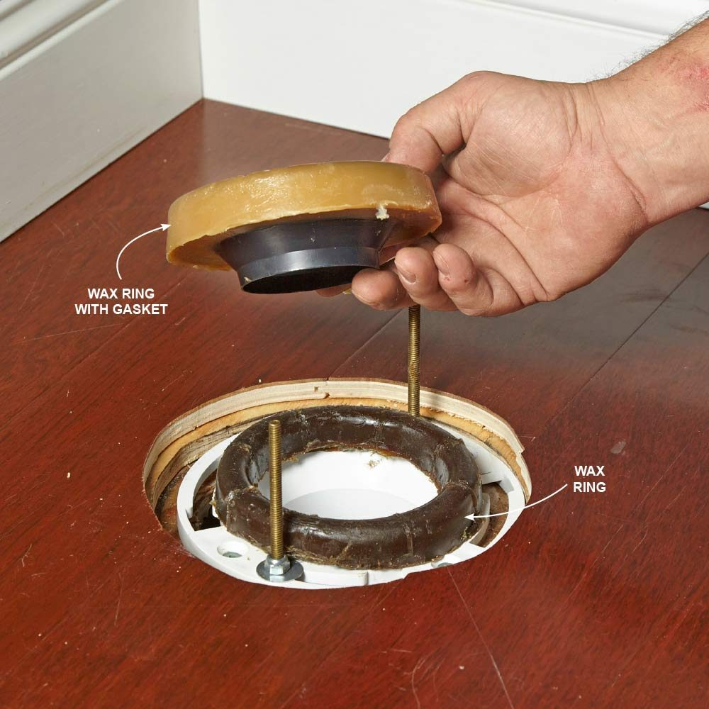 Use Double Wax Rings