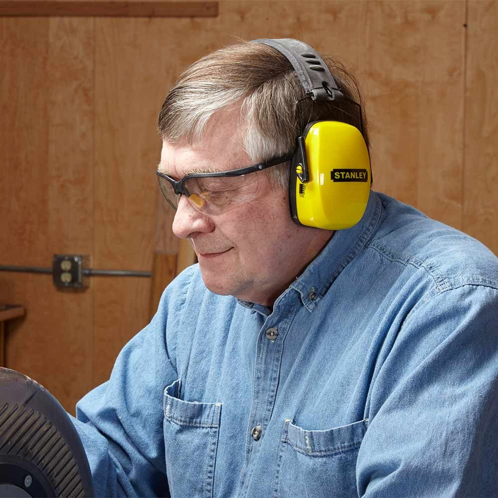 Wear Hearing Protection When Using a Miter Saw