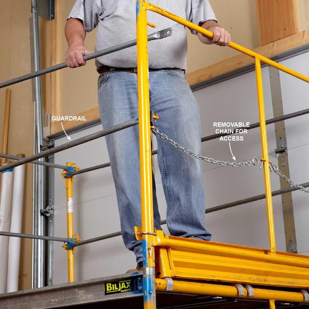 Install a Guardrail
