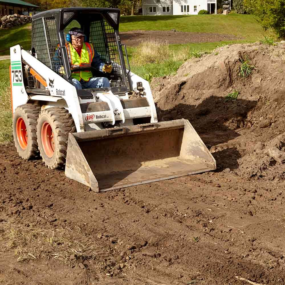 Keep a Skid Steer's Work Area Smooth