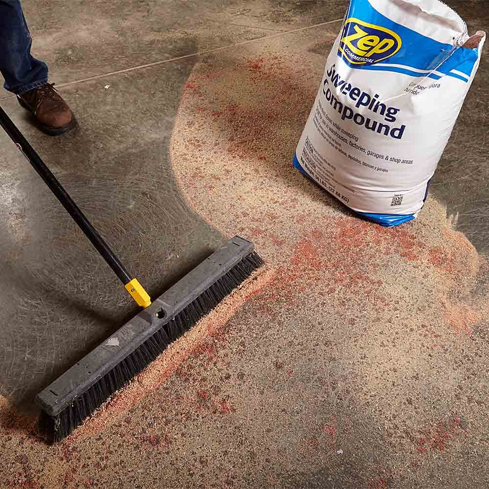 Don't Forget Sweeping Compound