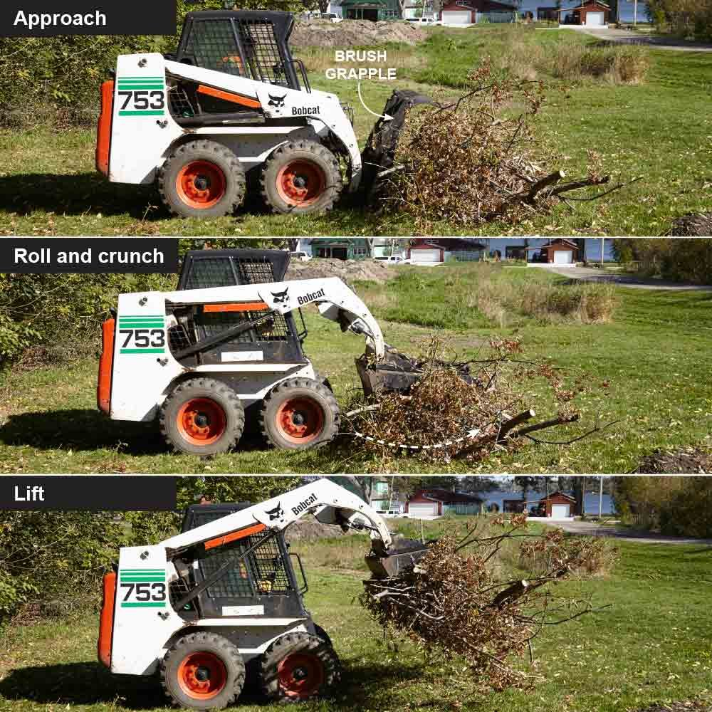 Move Brush With a Grapple