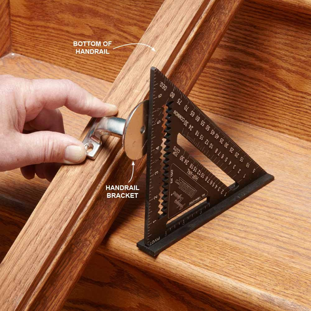 Find the Bracket Height With a Carpenter's Square