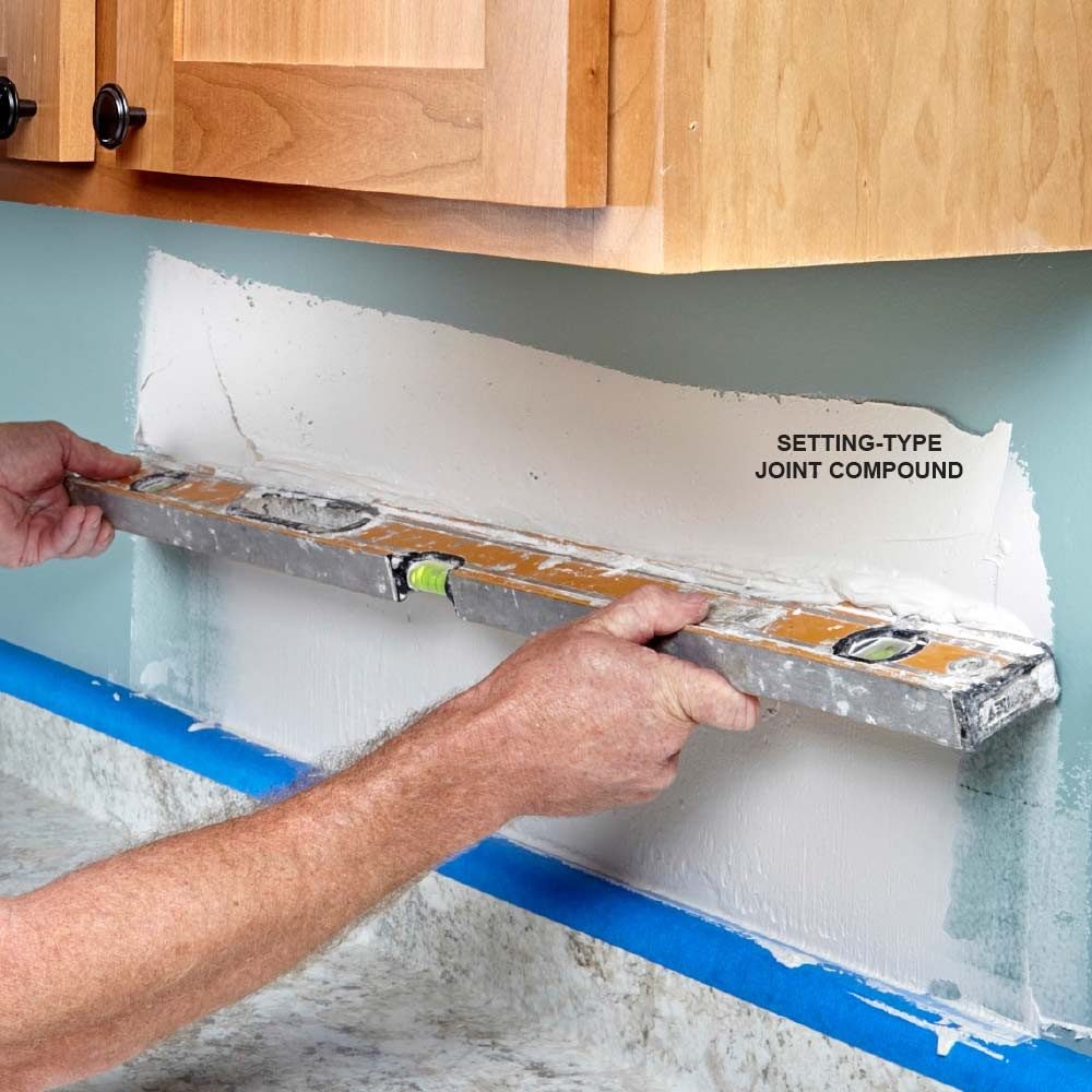 Step by step instructions on how to install mosaic tile flatten wavy walls dailygadgetfo Gallery