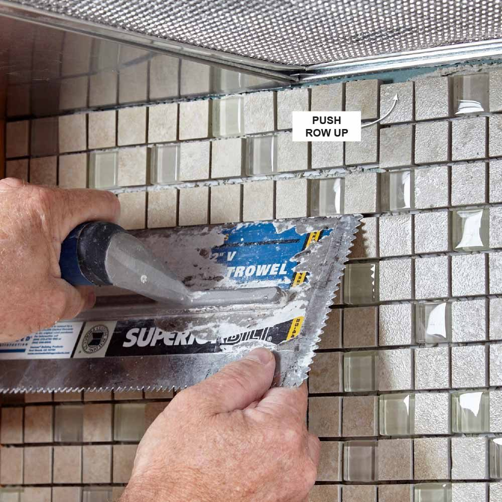 Step By Step Instructions On How To Install Mosaic Tile