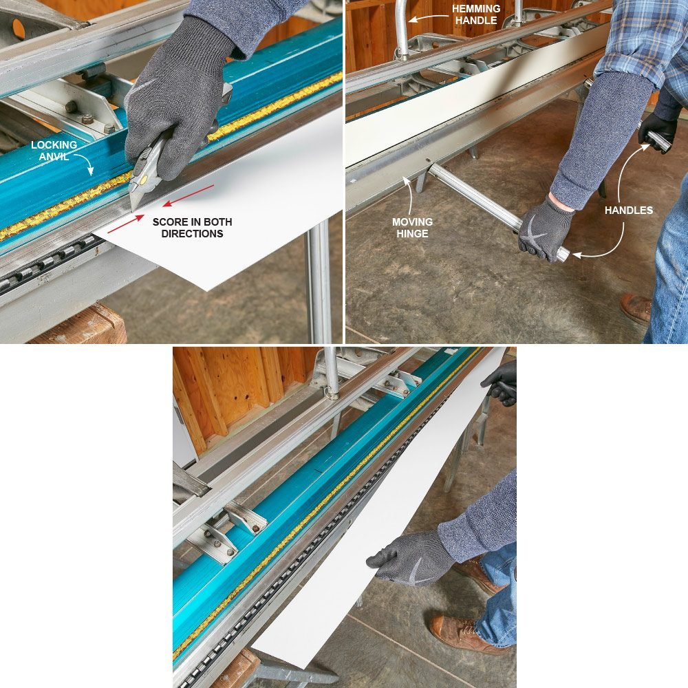 Direction for cutting trim coil | Construction Pro Tips
