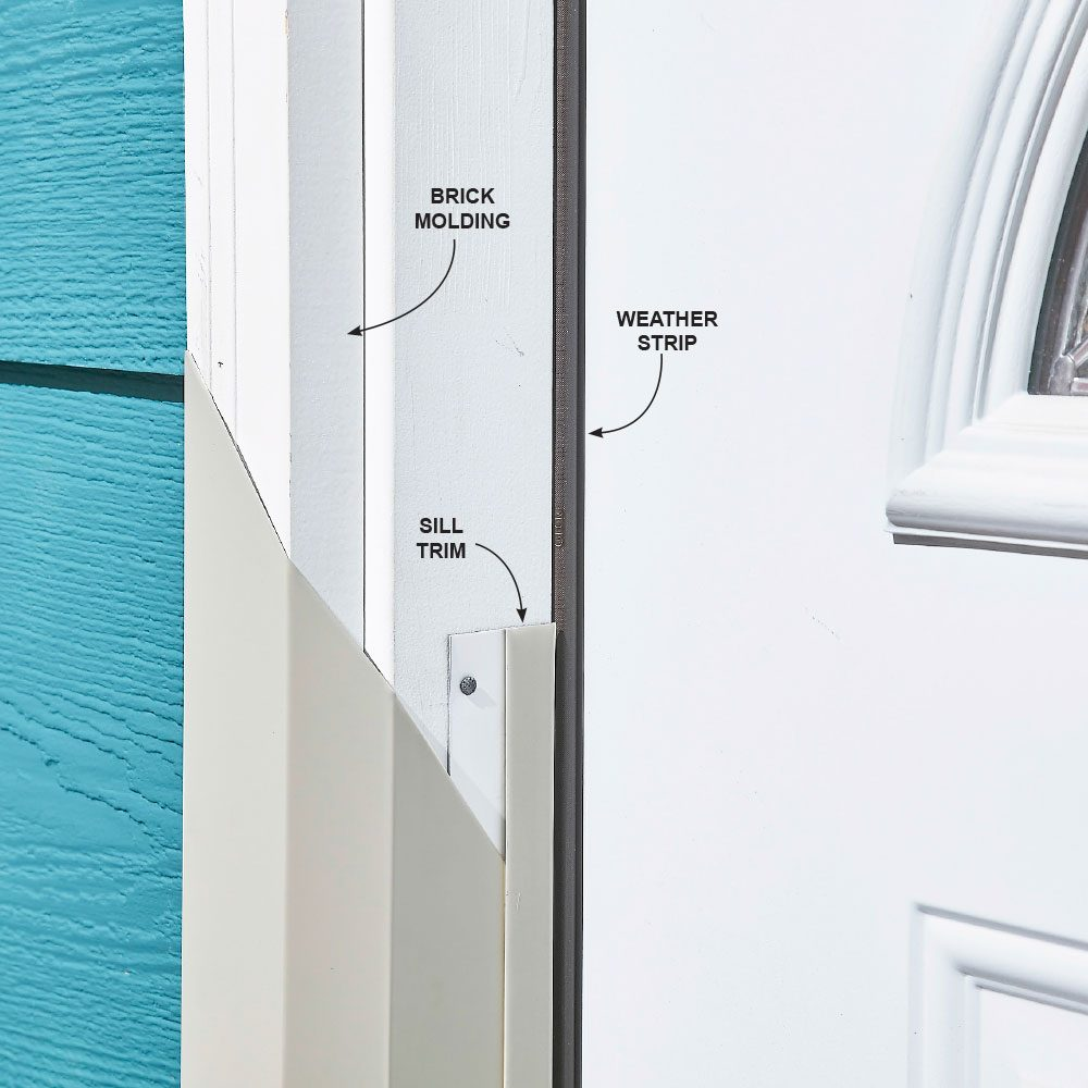 Hide Nails With Sill Trim