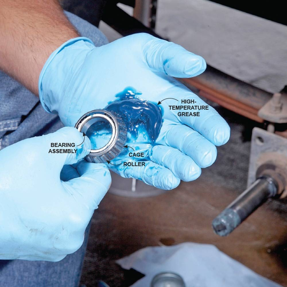 Greasing Bearings With High-Temperature Grease | Construction Pro Tips