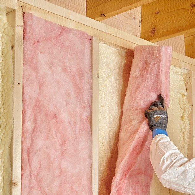 Placing fiberglass on top of foam | Construction Pro Tips