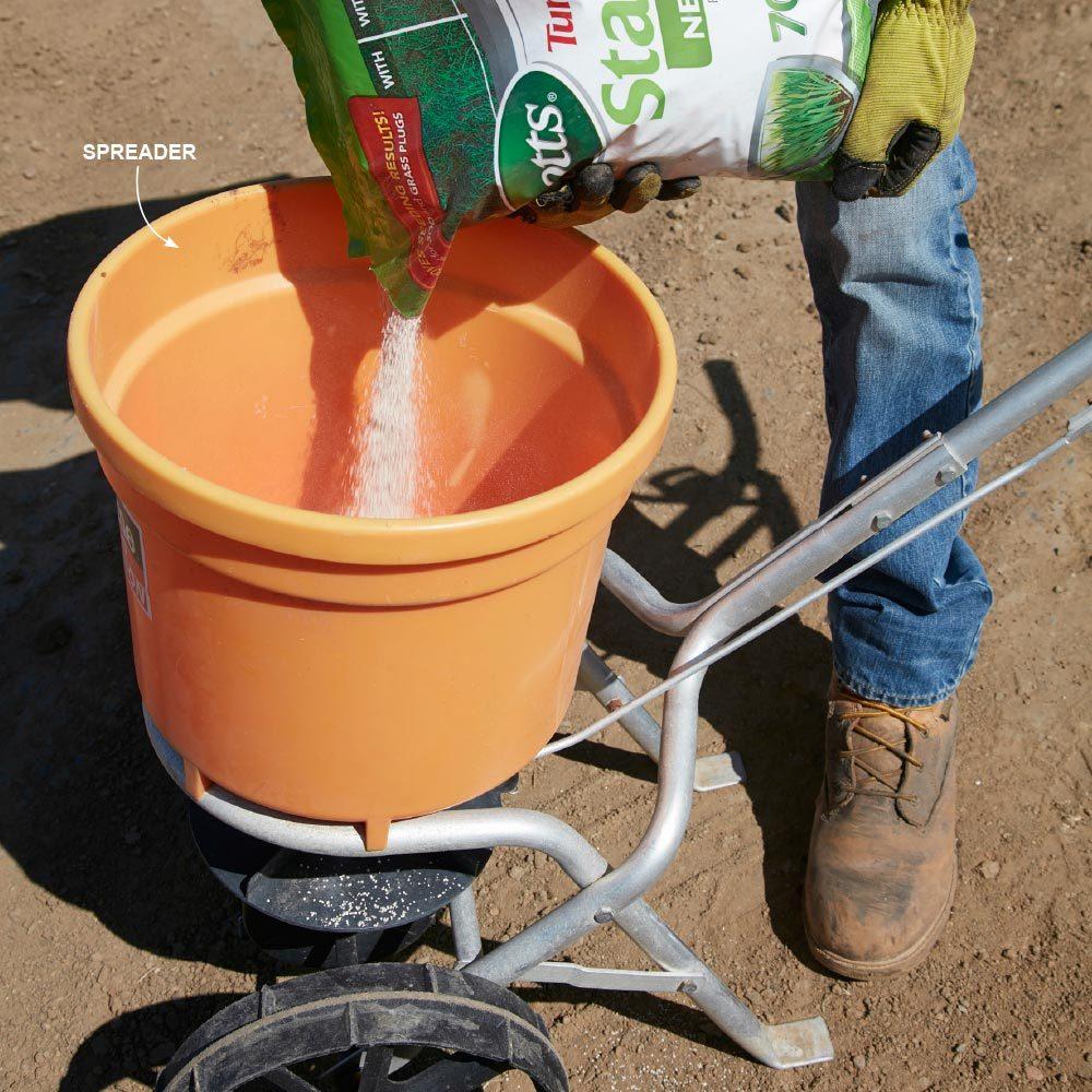 Fertilize the Soil First