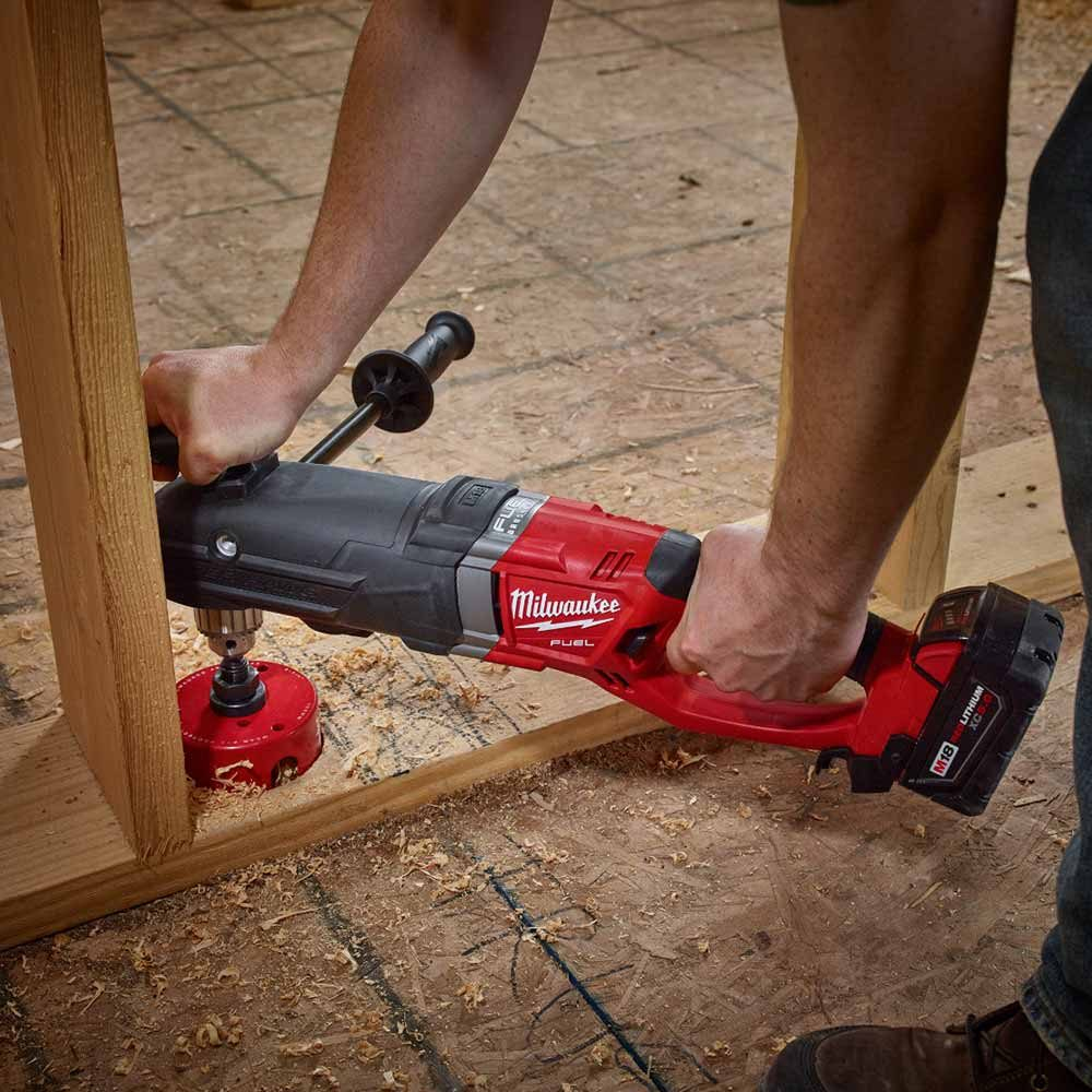 Milwaukee cordless right angle dirll