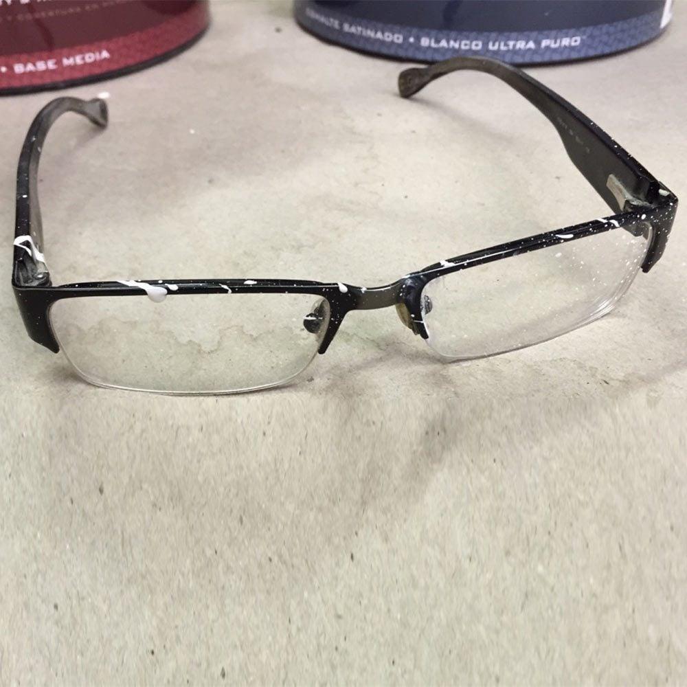 Keep Old Eyeglasses for Messy Jobs