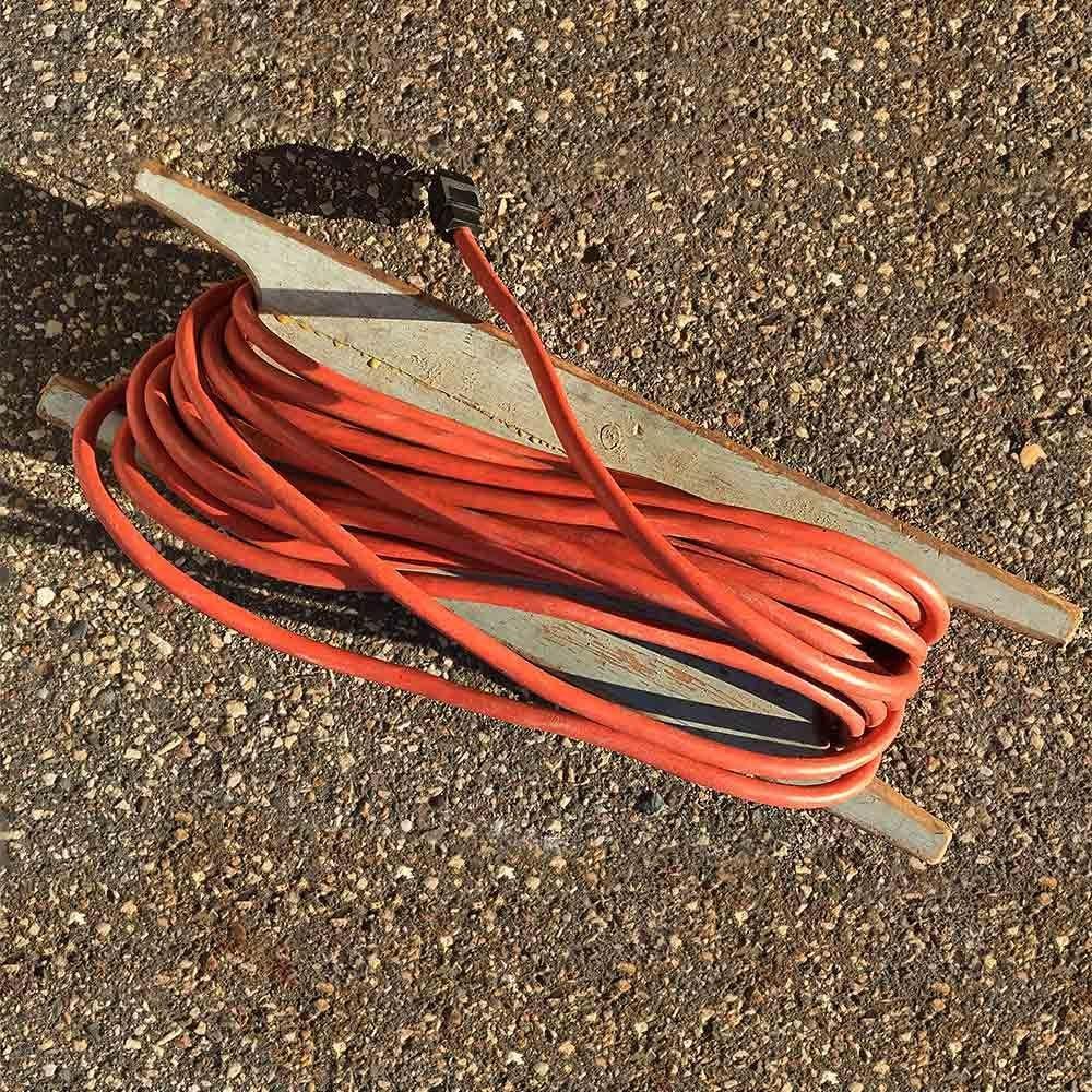 Scrap-Wood Extension Cord Reel