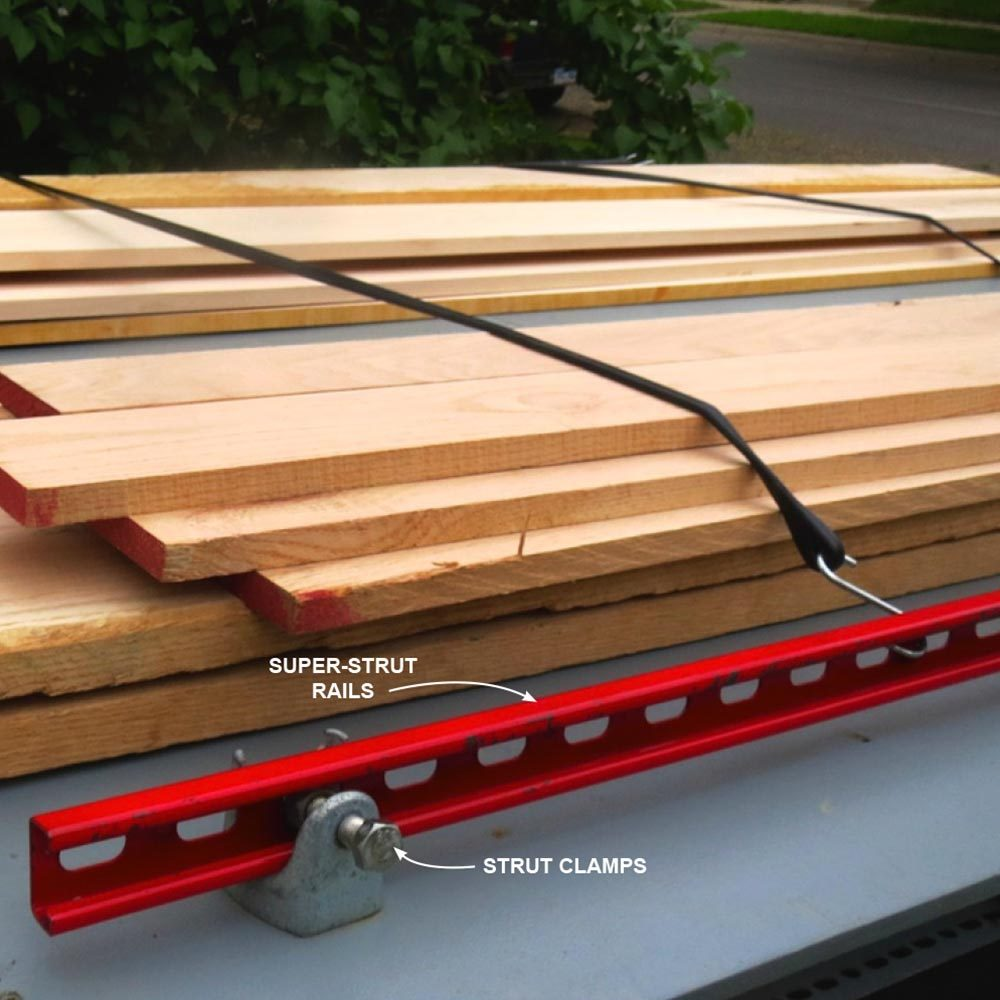 Build Your Own Truck Storage System And Tie Down Rack