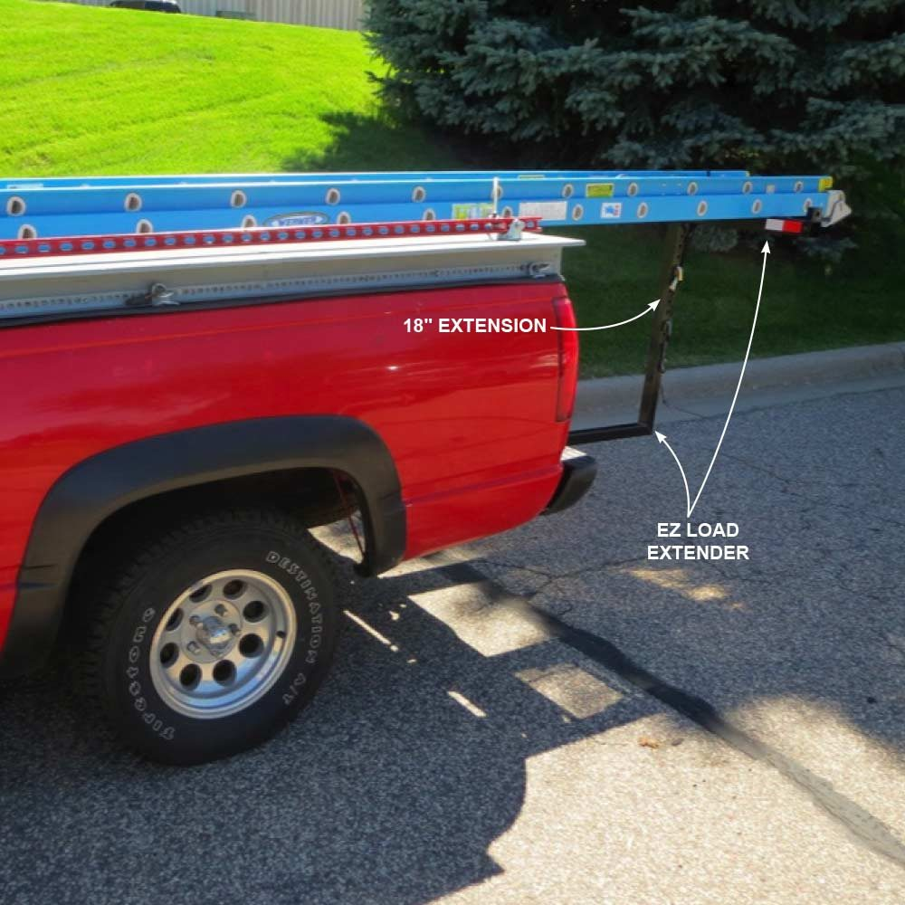 hauling with a truck load extender