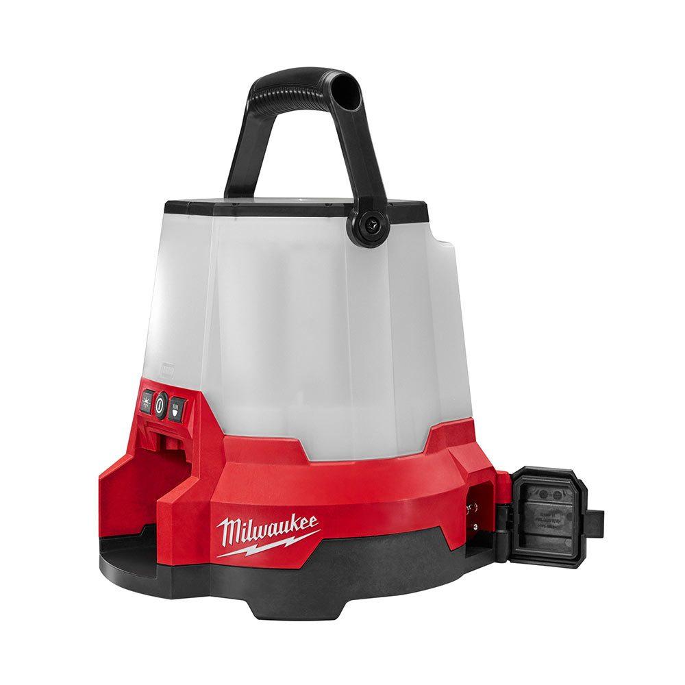 Milwaukee Jobsite Lantern with Cord | Construction Pro Tips