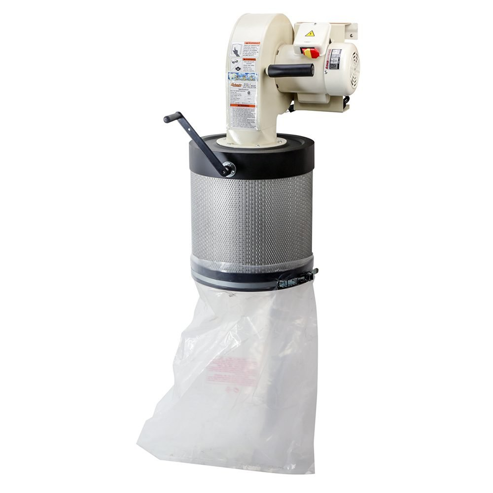 Space Saving Dust Collector