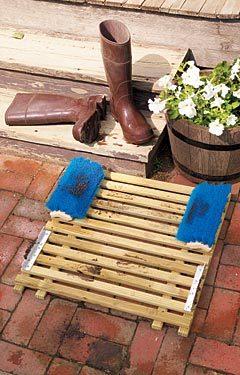 Door mat kildare discussion forum for Garden decking kildare