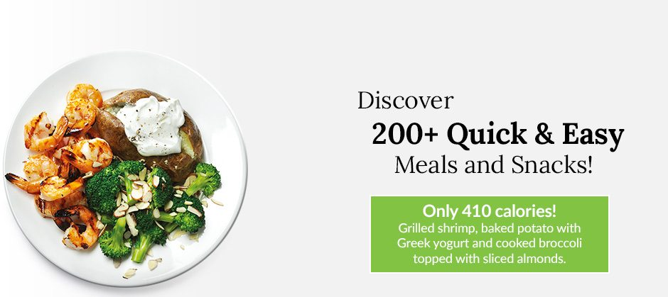 Discover 200+ Quick & Easy Meals and Snacks!