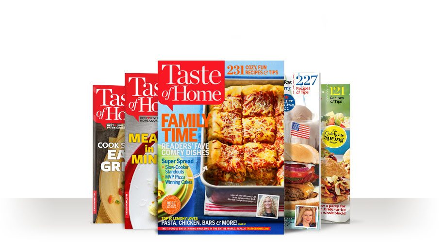 The number one cooking and entertaing magazine in the world