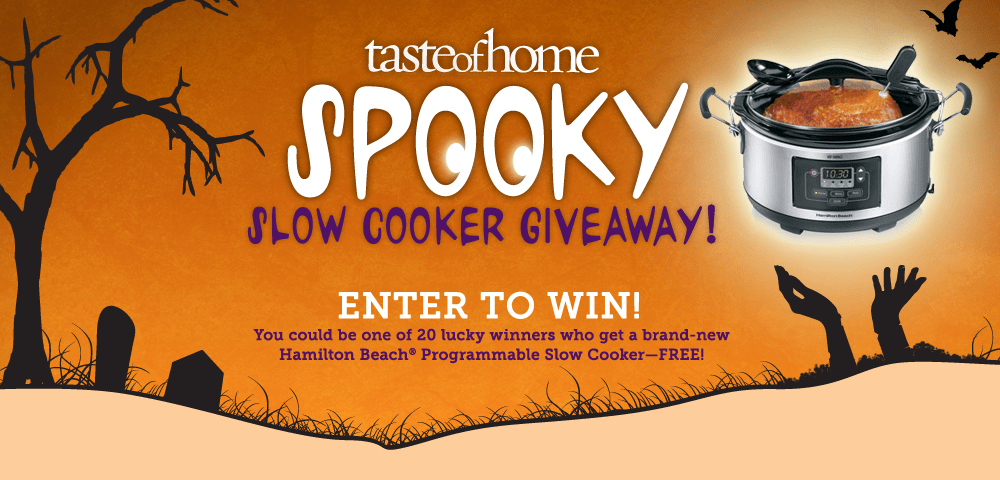 Spooky Slow Cooker Giveaway