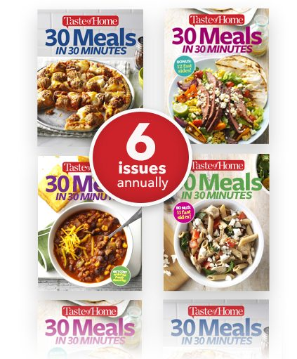 6 issues per year!