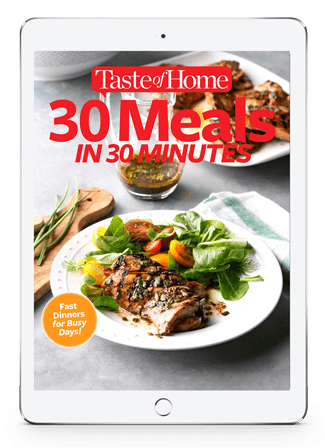 30 Meals in 30 Minutes Digital eBook