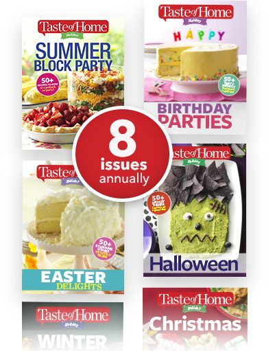 8 issues per year!