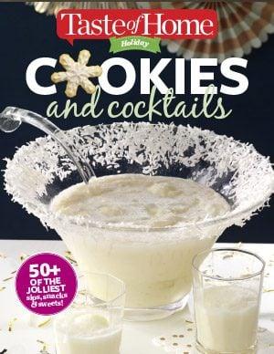 Cookies & Cocktails | Christmas Recipes E–book